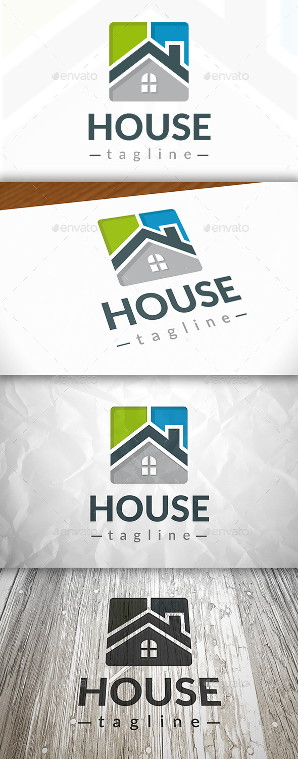 GraphicRiver New House Logo 9079920