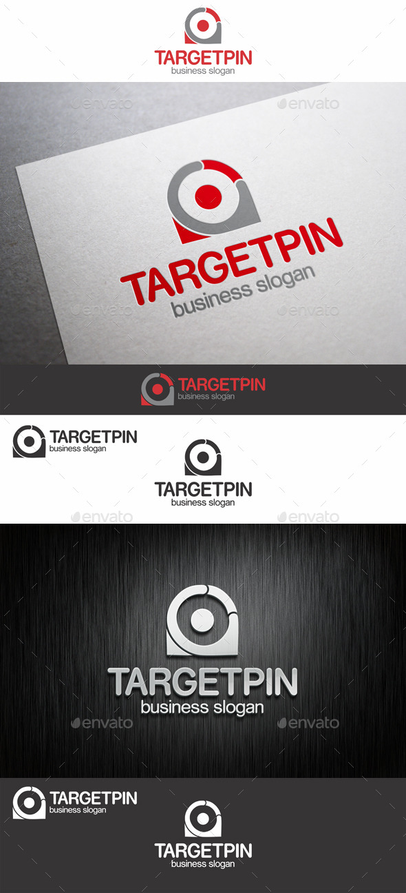 GraphicRiver Target Point Logo 9080307