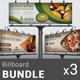 Restaurant Business Billboard Bundle | Volume 5 - GraphicRiver Item for Sale