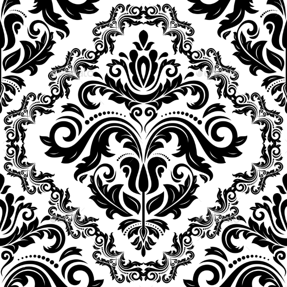 GraphicRiver Floral Seamless Vector Pattern 9080789