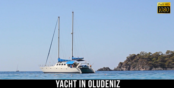 Yacht in Oludeniz