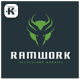 Ram Work Logo - GraphicRiver Item for Sale