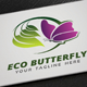 Eco Butterfly Logo - GraphicRiver Item for Sale