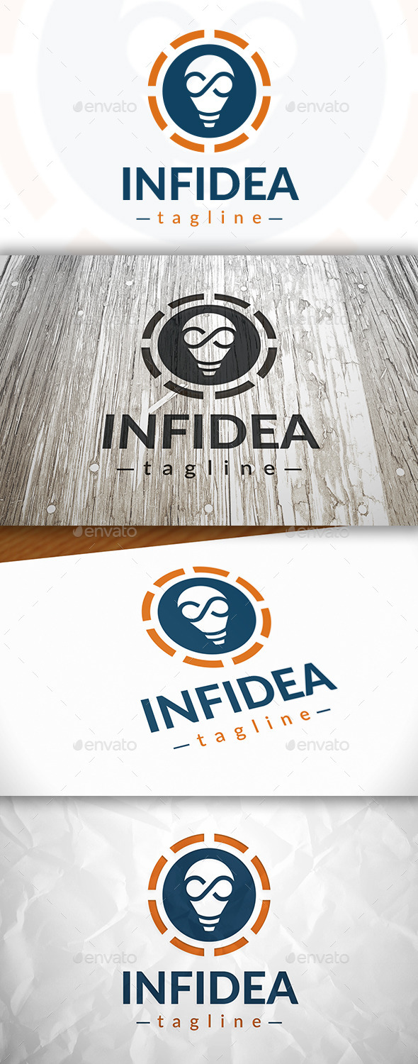GraphicRiver Infinite Idea Logo 9081202
