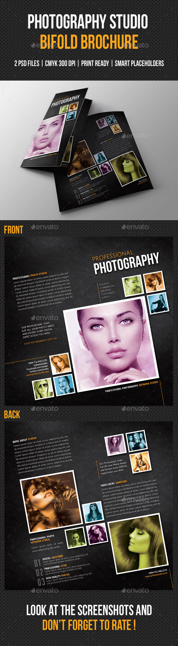 GraphicRiver Photography Studio Bifold Brochure 02 9081224