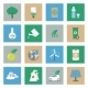 Ecology Flat Icons Set - GraphicRiver Item for Sale
