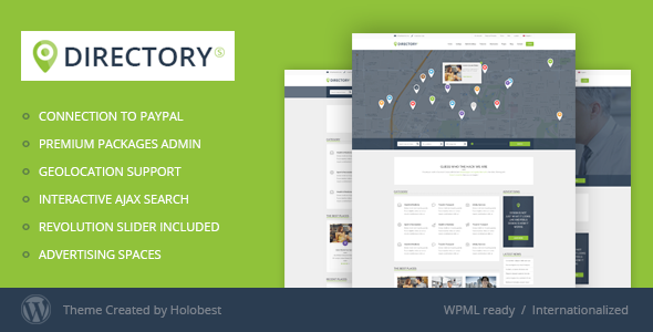 ThemeForest DirectoryS Listing WordPress Theme 8932964