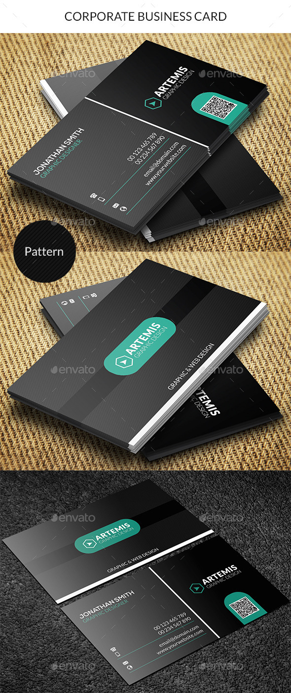 GraphicRiver Corporate Business Card 9081675
