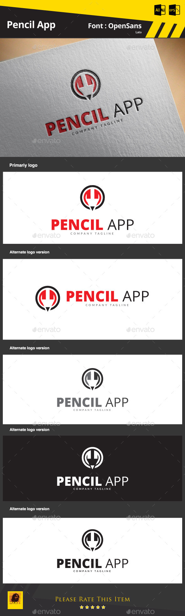 GraphicRiver Pencil App 9081691