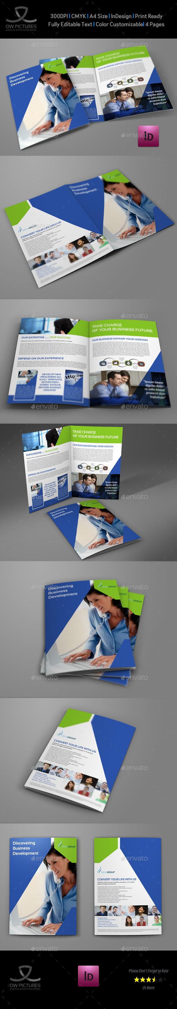 GraphicRiver Company Brochure Bi-Fold Template Vol.32 9081696