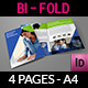 Company Brochure Bi-Fold Template Vol.32 - GraphicRiver Item for Sale