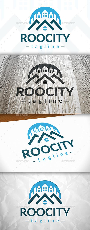 GraphicRiver Roof City Logo 9082407
