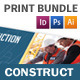 Construction Company Print Bundle - GraphicRiver Item for Sale