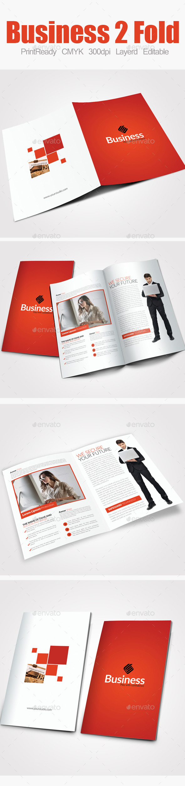 GraphicRiver Bi Fold Business Brochure 9082536