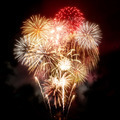Beautiful Golden Fireworks Display - PhotoDune Item for Sale
