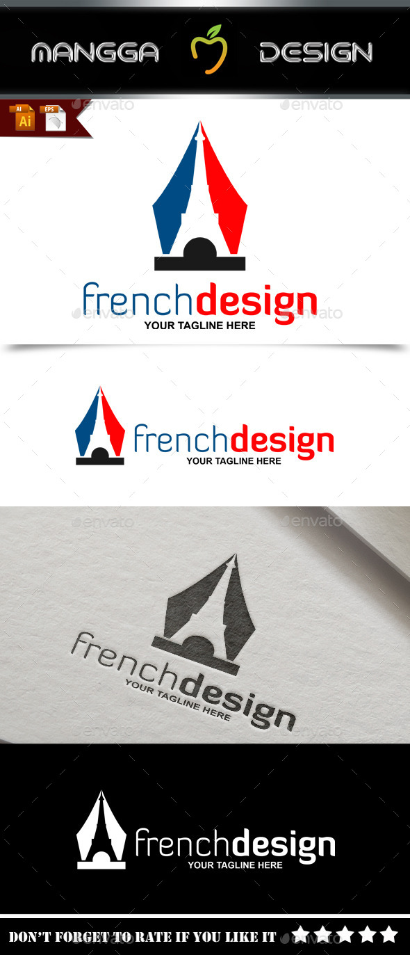 GraphicRiver French Design Logo 9082671
