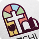 Christ Church Logo Template - GraphicRiver Item for Sale