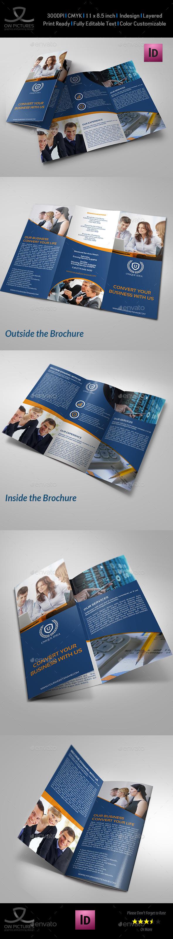 GraphicRiver Company Brochure Tri-Fold Brochure Vol.14 9083302
