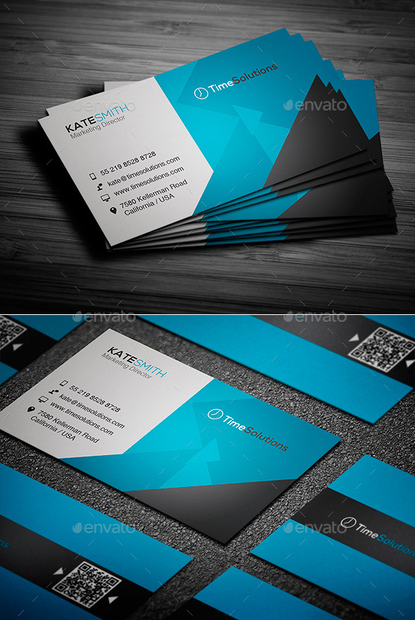 GraphicRiver Clean Business Card 9084213