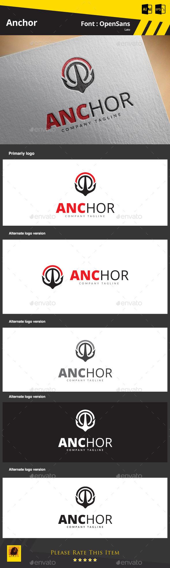 GraphicRiver Anchor Logo 9084374