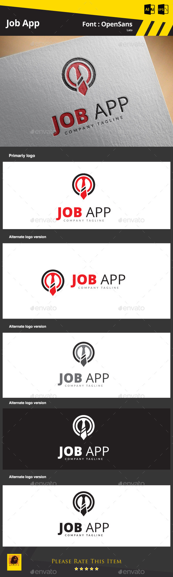 GraphicRiver Job App 9084532