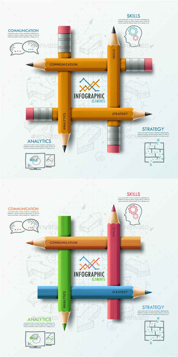 GraphicRiver Modern Infographic Options Template 2 Items 9084885