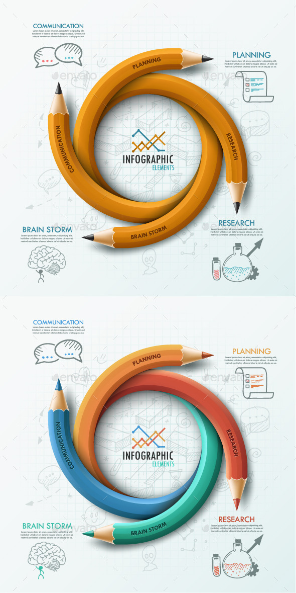 GraphicRiver Modern Infographic Options Template 2 Items 9084956