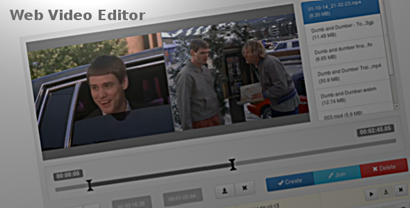 CodeCanyon Web Video Editor 9085361
