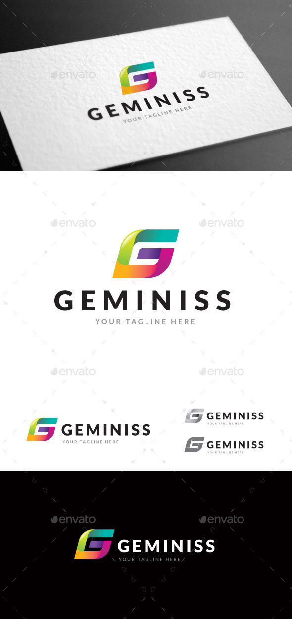 GraphicRiver Geminiss Logo Template 9085392
