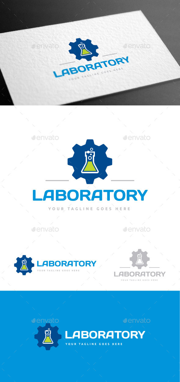 GraphicRiver Laboratory Logo Template 9085393
