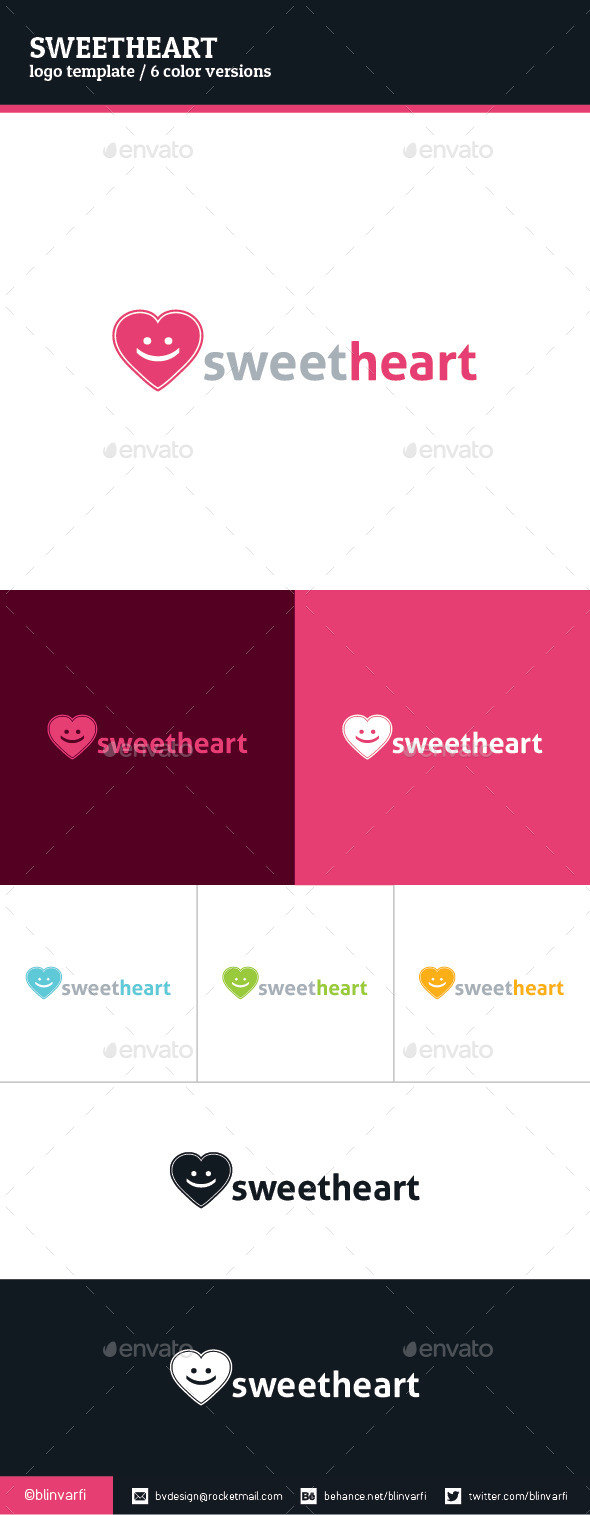 Sweetheart Logo Template