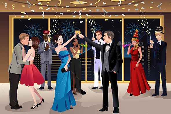 GraphicRiver New Year Eve Party Indoor 9086209