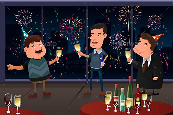 GraphicRiver New Year Eve party indoor 9086210