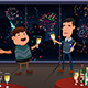 New Year Eve party indoor - GraphicRiver Item for Sale
