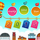 New Year 2015 Sign - GraphicRiver Item for Sale