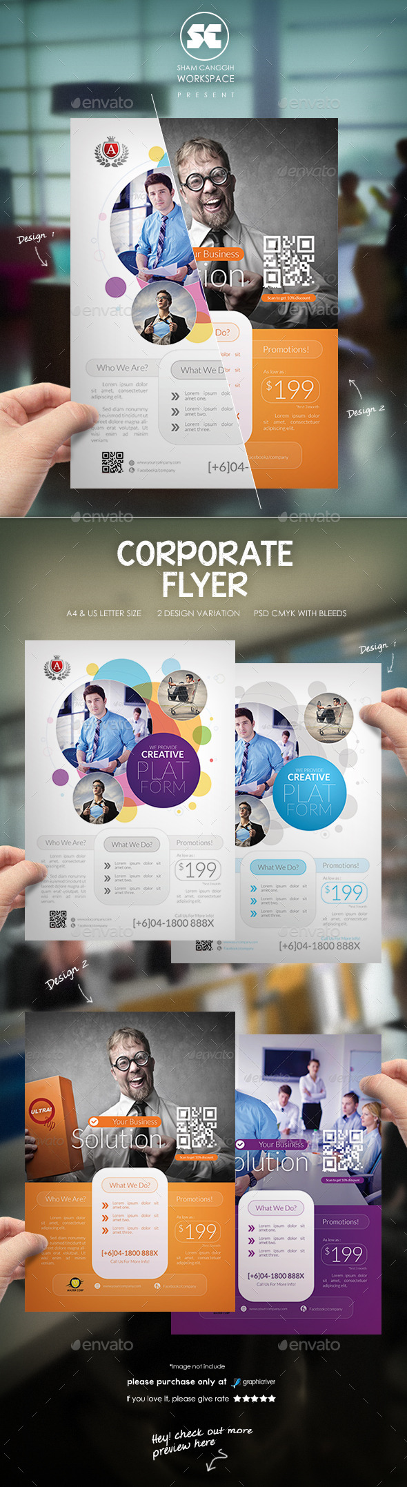 GraphicRiver Creative Business Flyer 9086740
