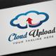 Cloud Upload Logo - GraphicRiver Item for Sale
