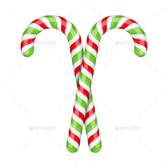 GraphicRiver Candy Canes 9087310