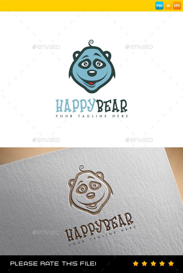GraphicRiver Bear Logo 9087311