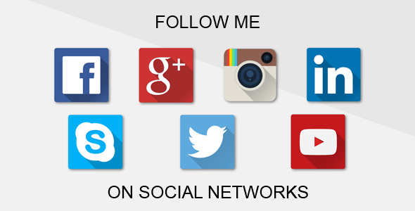 Follow Me on Social Networks