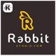 R Rabbit Logo - GraphicRiver Item for Sale