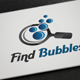 Find Bubbles Logo - GraphicRiver Item for Sale