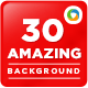30 Red Blurred Backgrounds - GraphicRiver Item for Sale