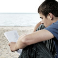 Teenager read outdoor - PhotoDune Item for Sale