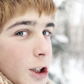 Teenager in Winter - PhotoDune Item for Sale