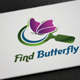 Find Butterfly Logo - GraphicRiver Item for Sale