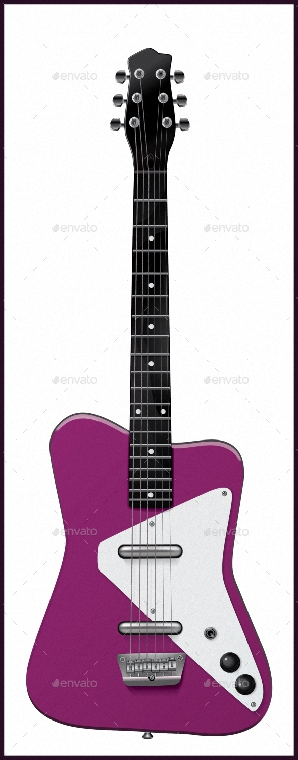 GraphicRiver Electric Guitar 9087989