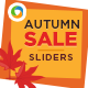 Autumn Sale Sliders - GraphicRiver Item for Sale