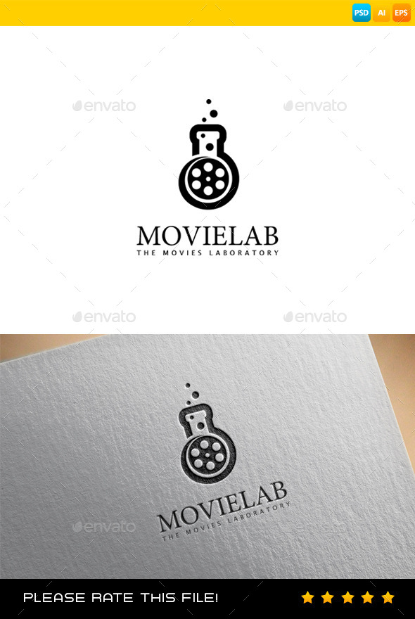 GraphicRiver Lab Logo 9088188