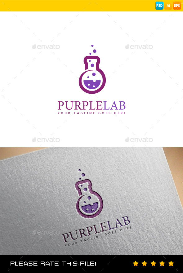 GraphicRiver Lab Logo 9088233
